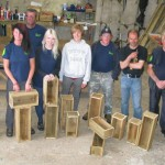 Woodworking, Firemen and Volunteer week!