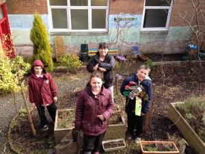 Tree Planting_Carbrain Primary_©Nik Turner