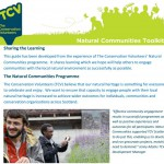 New Natural Communities Toolkit