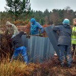 Easter Inch Moss with the Stirling and Edinburgh midweek Volunteers