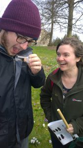 Fellow trainees memorised by our bumblebee find