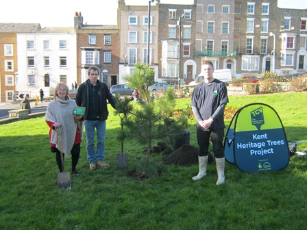 Future Heritage Tree planting in Margate