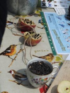 Getting to the core of making nifty bird feeders