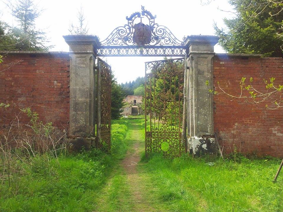 The gate today