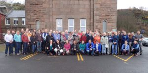 I attended the Porcupine Marine Natural History Society in Millport. Great to meet so many marine enthusiasts!