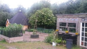 Just one of many lovely outdoor areas at TCV Skelton Grange (Photo by Emma Straughan)