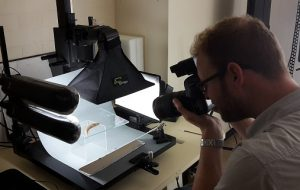 Lesson in live slug photography by James of National Museum Cardiff.