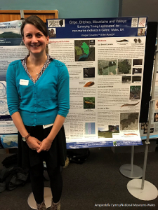 Presenting my poster at the Molluscan Forum