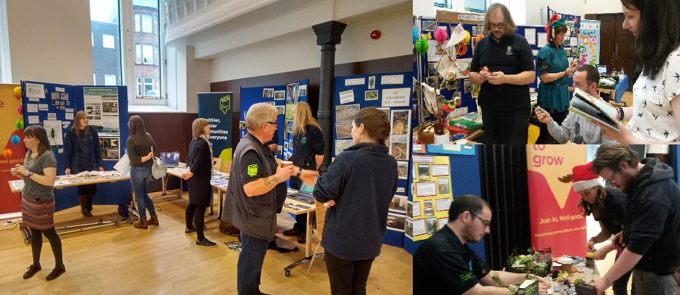 Everyone having a great time and joining in at the Natural Talent & Natural Networks showcase in Glasgow (Photos: Emma Straughan & Katey Whyte)