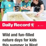 3 Year Olds and 300 People – August at Buglife