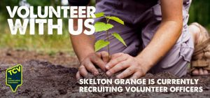 TCV Skelton Grange - volunteer with us with tag line - compressed