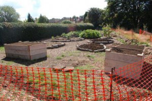 2 9 15 Cassiobury Community Project site kitchen garden