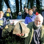 Digging into Cassiobury Park's history with Green Gym Volunteers