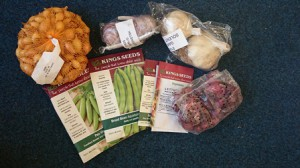 Goodies for the garden blog