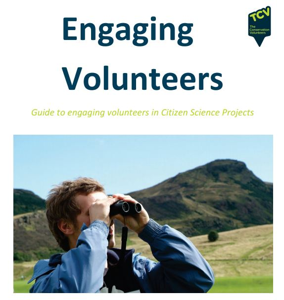 Engaging volunteers screen shot