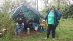 Tea break shelter blog