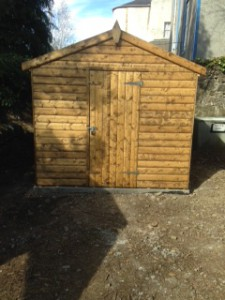 The wonderful new shed for the Butterfly Conservation Trust
