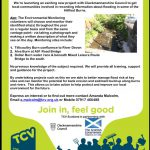 Become a River Monitoring Volunteer!