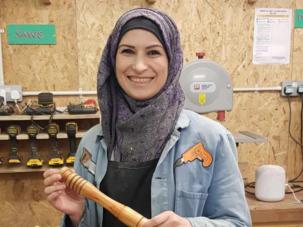 Roba in the TCV workshop