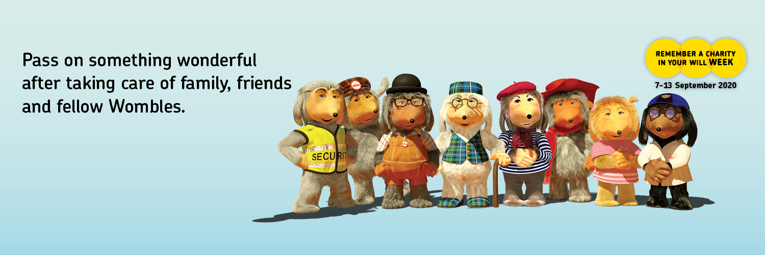 Remember A Charity 2020 with The Wombles