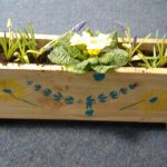 Flower box created by Women in Mind