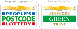 People's Postcode Lottery Postcode Green Trust logo