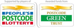 People's Postcode Lottery Postcode Green Trust logo