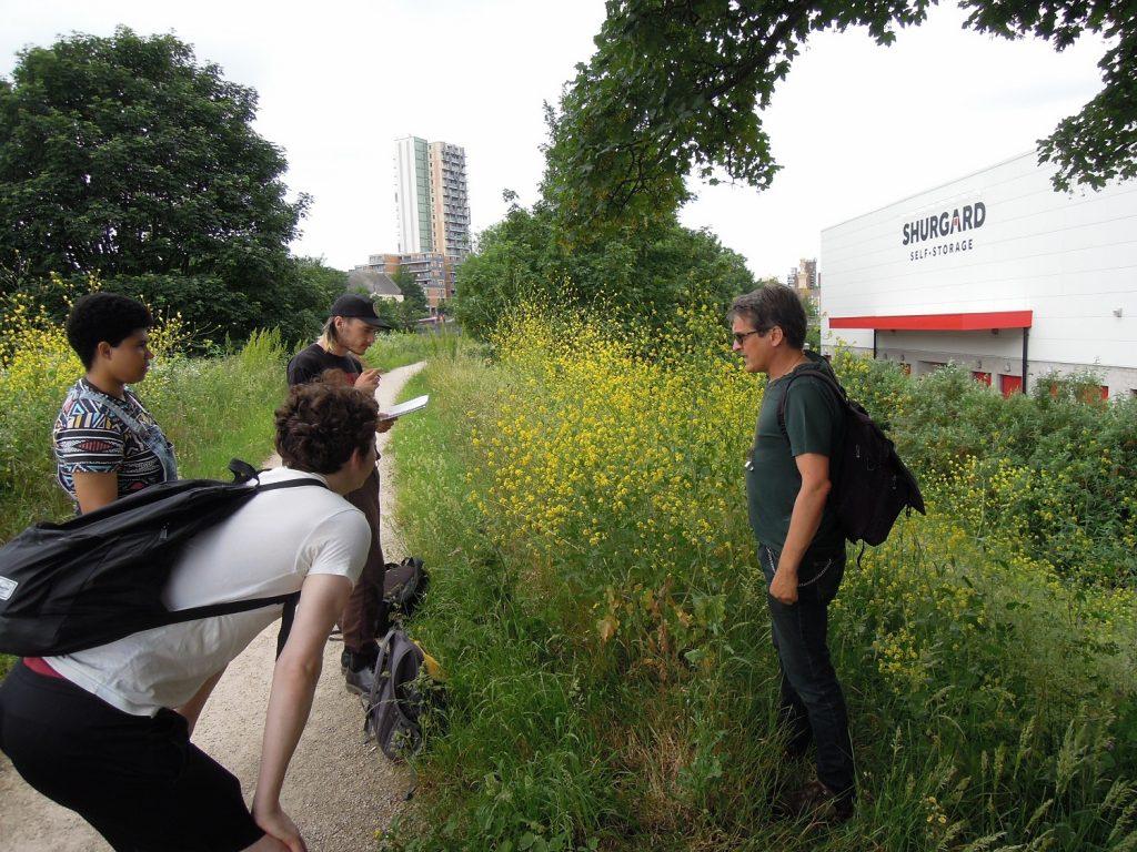 Dr Mark Spencer botany walk Plumstead June 2021